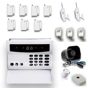 32  zone wireless home security alarm system kit: Home Improvement