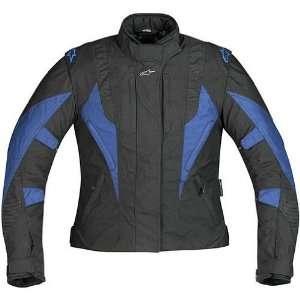 On Road Racing Motorcycle Jacket   Black/Blue / X Large Automotive