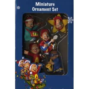 2 inch Alvin and the Chipmunks Miniature Christmas