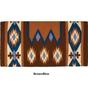 Mustang NZ Wool Laredo Saddle Blanket Brown/Pink