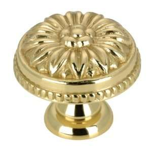 Brass Brass Knob(Door, Dresser, Cabinet) [ 1 Bag ] Home