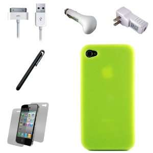 Silicone Skin Cover Case for Apple iPhone 4 ( 4th Generation