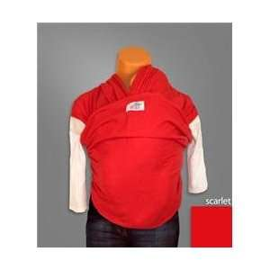 Wrap N Wear Baby Carrier   Solid Color Scarlet Baby