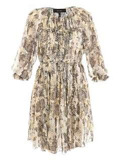 Martina snake print dress  Isabel Marant