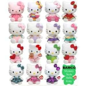 TY Hello Kitty Beanie Babies peace love cupcake pink 6