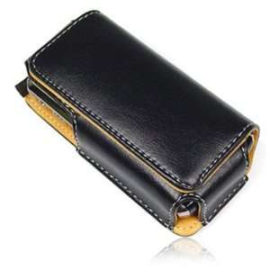 High Quality Black Universal Horizontal Long Slim Pouch