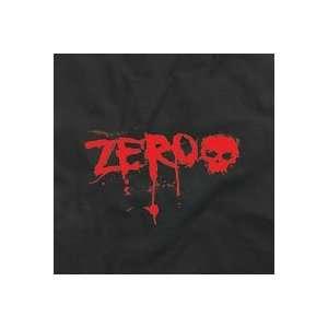 Zero Blood Text Youth T Shirt [Large] Black  Sports