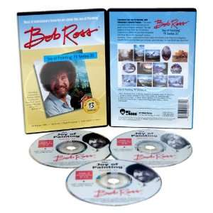 ROSS DVD JOY OF PAINTING SERIES 31 13 SHOWS: Movies & TV