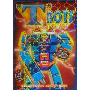 TBots Morphing Robots Coloring & Activity Book   Blue