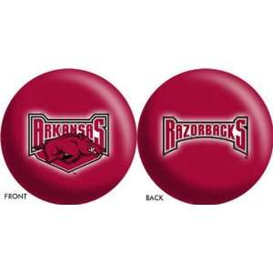 Arkansas Razorbacks NCAA Bowling Ball