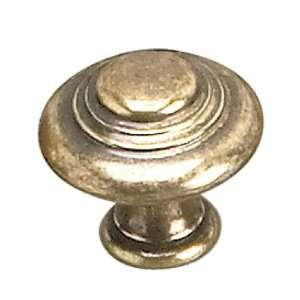 Brass Burnished Brass Knob(Door, Dresser, Cabinet) [ 1 Bag