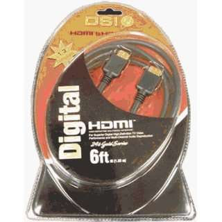 DSI HDMI6 High Quality High Performance 6 Foot HDMI Cable Electronics