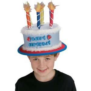 Birthday Cake Hat for the Birthday Boy 3yrs+: Everything