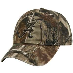 Crimson Tide Real Tree Camo Adjustable Slouch Hat: Sports & Outdoors