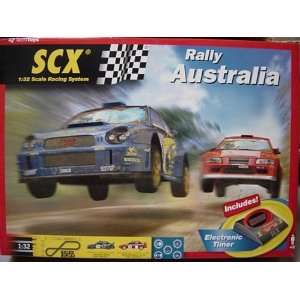 32 Rally Australia Slot Car Race Set, Analog (Slot Cars): Toys & Games