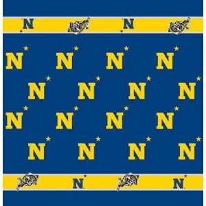 54 x 54 Collegiate Team Table Cloth Card Team Navy