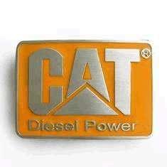 CAT Diesel Power Caterpillar Belt Buckle Clothing