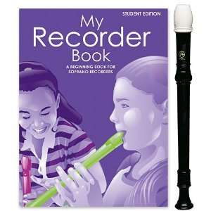 Angel 1 Piece Recorder Pack with My Recorder Book/CD by