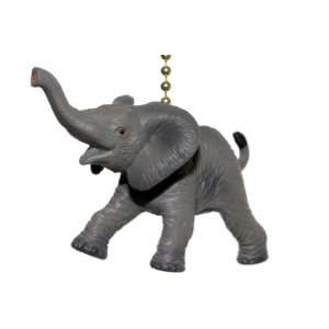 Elephant Ceiling Decor Fan Light Pull