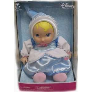 Disney Princess Soft & Cuddly Cinderella Baby Doll: Toys & Games