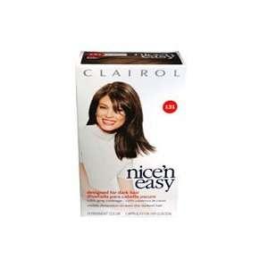 Clairol Nice n Easy Hair Color, Dark Brown 131   Kit