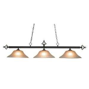 Designer Classic Amber Gratina Glass Table Light