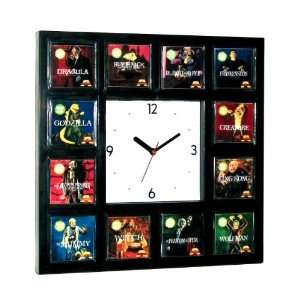 : 12 Aurora Movie Monster 1972 Model kits set Clock: Everything Else