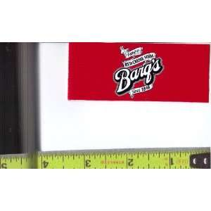 Magnum, Small Rectangle Size Barqs Red Cream Logo Soda Vending Machine