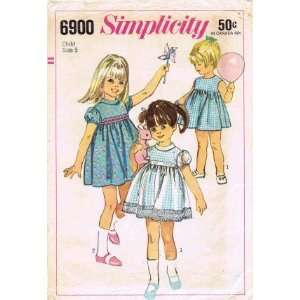 Vintage Sewing Pattern Dress Underdress Size 5 Arts, Crafts & Sewing
