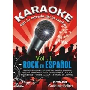 DVD KARAOKE ROCK EN ESPANOL VOL.1: Movies & TV