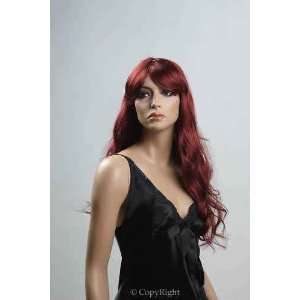 Brand New Red Female Wig Synthetic Hair For Ladies Personal Use Or