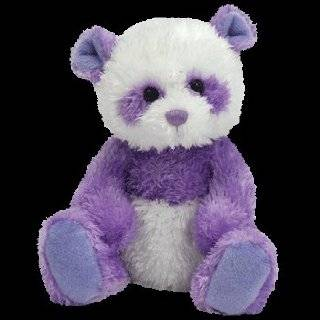 TY Beanie Baby   DANCY the Purple Panda Bear (Internet Exclusive)