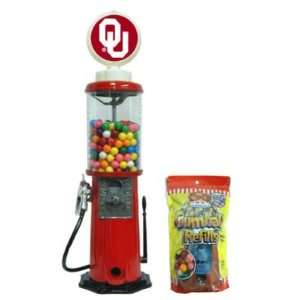 OKLAHOMA SOONERS OFFICIAL LOGO GUMBALL MACHINE Sports