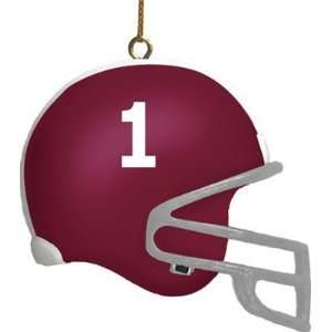 Alabama Crimson Tide 3 Helmet Ornament