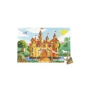 Castle Floor Puzzle   48 pieces Toys & Games