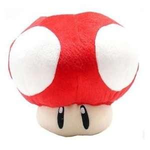 Super Mario Brothers Red Mushroom 20 Plush Doll Toys & Games