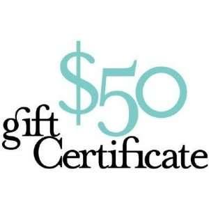 Harvest Essentials Gift Certificate   $50: Kitchen & Dining