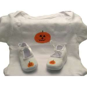 halloween baby layette set   pumpkin Home & Kitchen