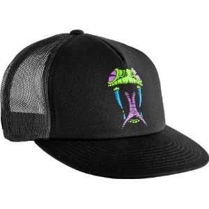 Peralta Black Light Snake Head Mesh Hat , One Size