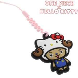 Sanrio Hello Kitty x One Piece Cleaner Cell Phone Charm