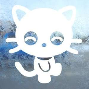 Chococat White Decal Sanrio Hello Kitty Window White