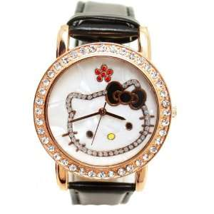 Hello Kitty Crystal WristWatch Wrist Watch NEW