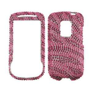 Hot Pink and Pink Zebra For Sprint HTC Hero Cell Phones & Accessories