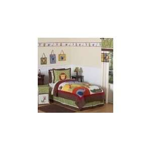 Jungle Time 3 Piece Full / Queen Comforter Set   Boys
