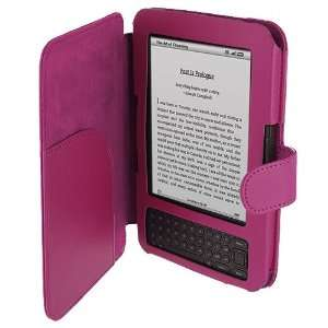PU Leather Case Cover Pouch New for  Kindle Keyboard 3G Wifi