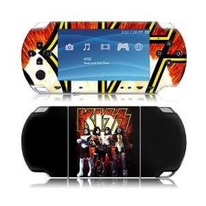Skins MS KISS10014 Sony PSP Slim  KISS  Love Gun Skin Electronics