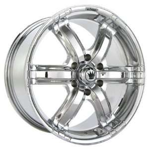 20x8.5 Konig Coastal (Chrome) Wheels/Rims 6x135