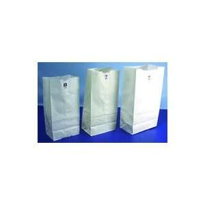 White Paper Merchandise Bags 10 x 13 (NO10WHITE) Category Kraft