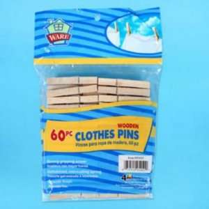 Clothes Pin 60 Count Wood Laundry: Everything Else