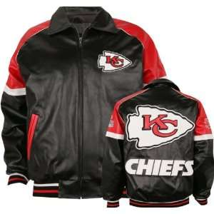 Kansas City Chiefs Varsity Faux Leather Jacket